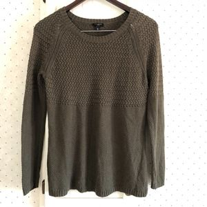 Talbots Green Cashmere Blend Sweater Medium Petite